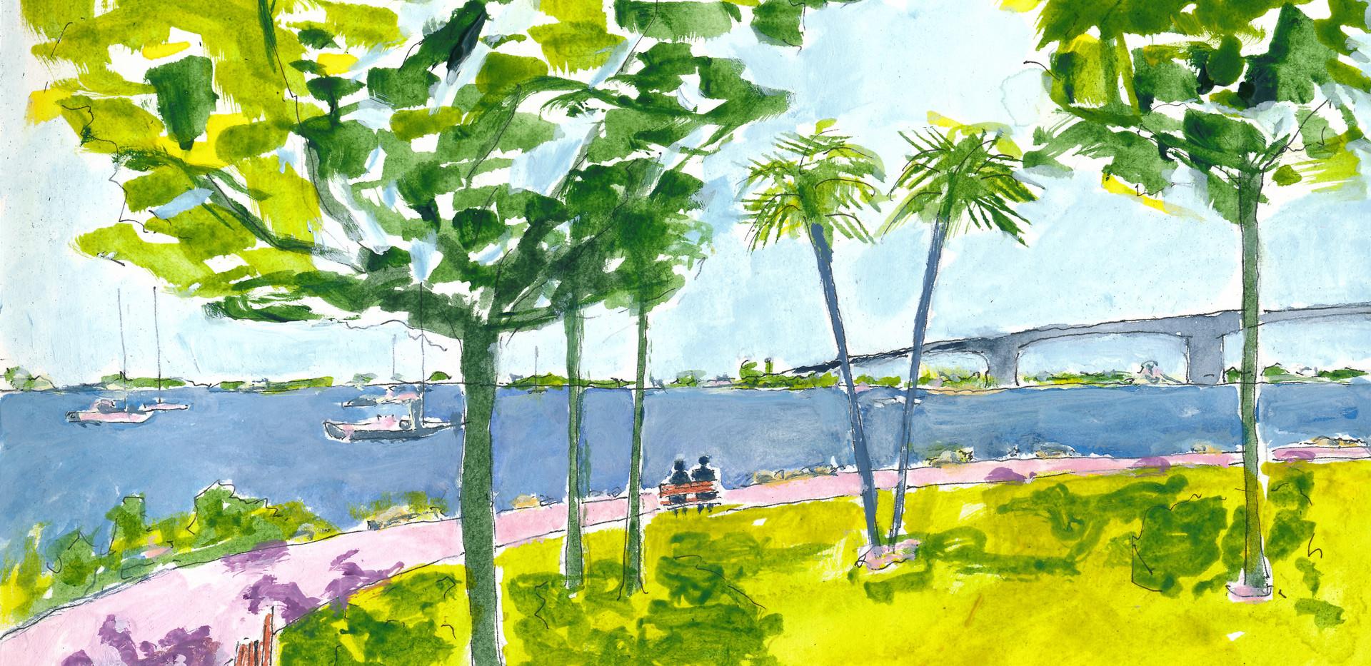 Sarasota Bayfront Park, 2020