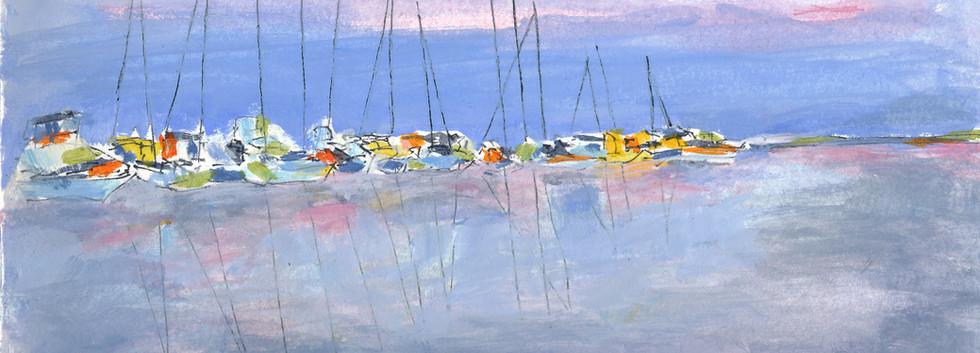 Reflection, Twin Dolphin Marina