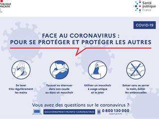 NIMACLIM, spécialiste de la climatisation à Nîmes, vous informe sur son organisation face au COVID19