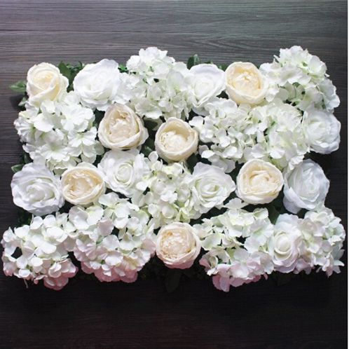 10pcs  Ivory Floral wall,Flower Wall, Wedding backdrop