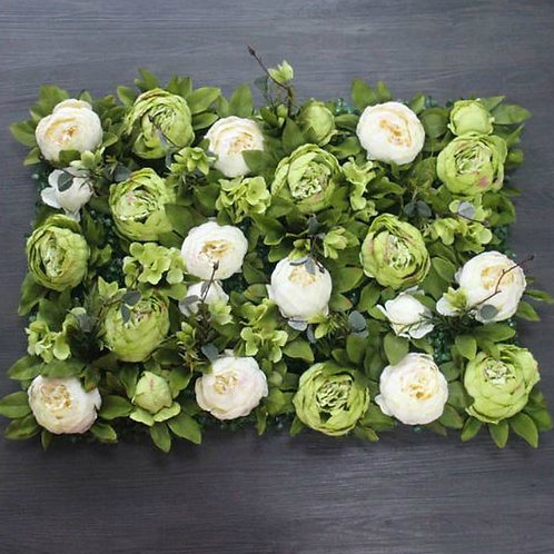 Individual Ivy and Ivory Floral wall,Flower Wall, Wedding backdrop