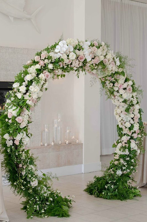 Large Floral Arch stand/ Metal Stand
