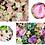 Thumbnail: 1m*1m wedding backdrop decor window artificial Silk Rose flower wall