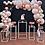 Thumbnail: Geometric table set/ Cake stand/ Party decor/ Geometric Plinths