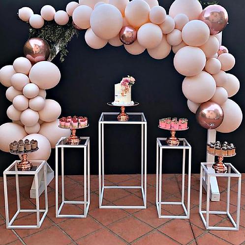 Geometric table set/ Cake stand/ Party decor/ Geometric Plinths