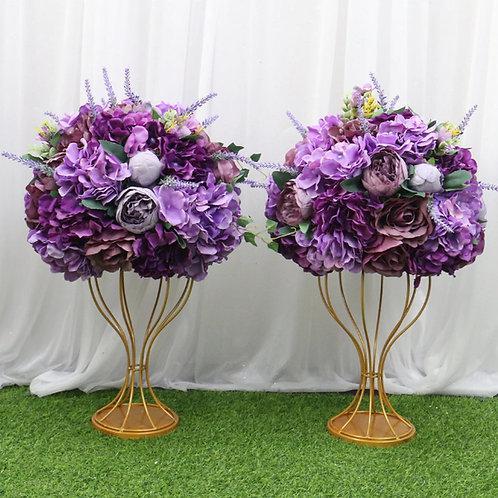 35/45cm artificial purple flower ball