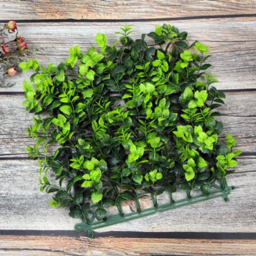 Green Hedge plants Artificial Flower Wall Panel