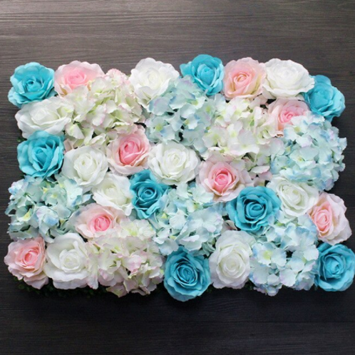 10pcs  Light Pinks/Blues Floral wall,Flower Wall, Wedding backdrop