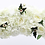 Thumbnail: Luxury new artificial butterfly orchid flower row + iron arch stand