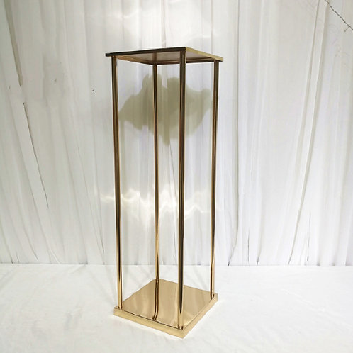 x10 Rectangular Tall Metal Stand/ Geometric stands/ Rectangle Stand Metal