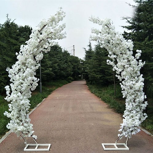 2.5M artificial cherry blossom arch