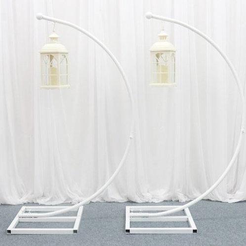 Wedding lead road guide lantern, wedding arch backdrop, stage decor