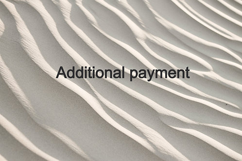 Additional payment