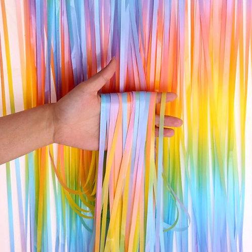 3M Macaroon fridge Tinsel curtains
