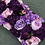 Thumbnail: 1m/2m Purple artificial orchid flower row runner