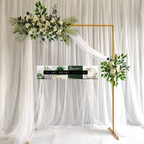 Geometrical square shape arch / wedding backdrop stage stand/ square back drop/