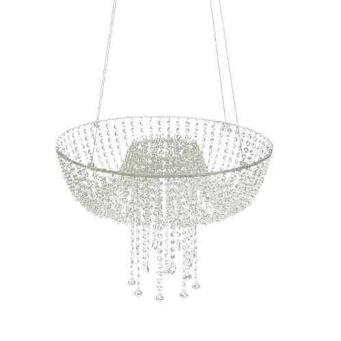 crystal Chandelier swing cake stand, Cake stand
