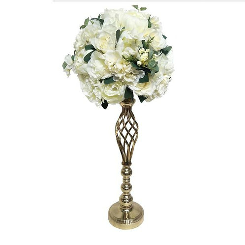 10pcs Golden floral wedding vase,Centrepiece vase, Floral arrangement,