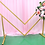 Thumbnail: Geometrical shape stand / wedding backdrop