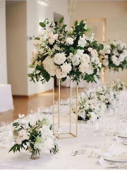 Gold Metal Geometric Modern Wedding floral