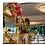 Thumbnail: 5pcs 80cm Wedding centerpiece hoop