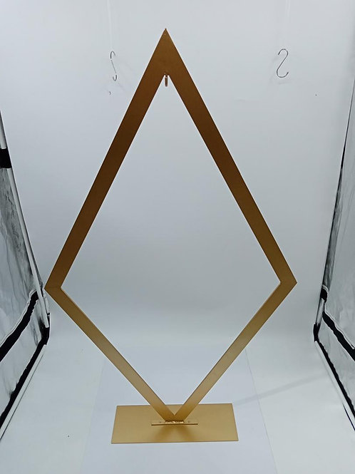 x5 125cm Large Triangle centerpiece/ cake backdrop