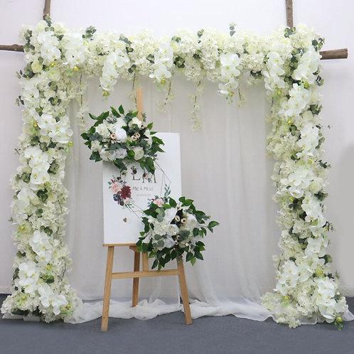 150cm Arch flowers, peony hydrangea garland,Wedding garland