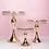 Thumbnail: Mirror Cake Display Metal Stand