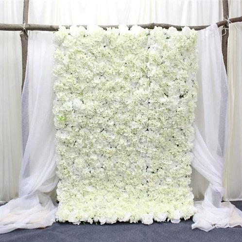 Hanging flowerwall, Curtain flowerwall