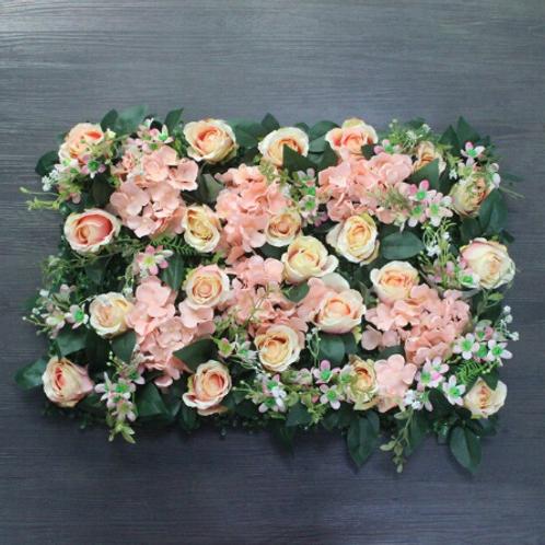 10pcs  Pretty Pink Floral wall,Flower Wall, Wedding backdrop