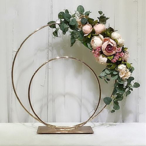 x 10pcs Double Hoop centerpiece/Wedding Floral Hoop