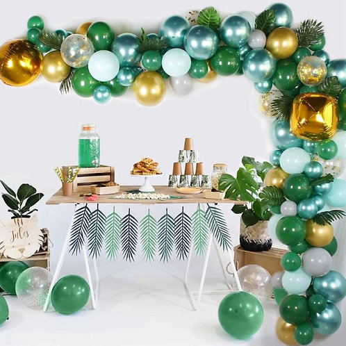 5 meter Balloon garland kit/ Tropical balloon garland