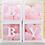 Thumbnail: Baby shower balloon holder, Baby shower background decor