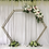 Thumbnail: Hex Wedding Arch Wedding Backdrops For Wedding Decoration Stage Decoration