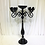 Thumbnail: Romantic Five arms Black 47.2''inches tall candle holder