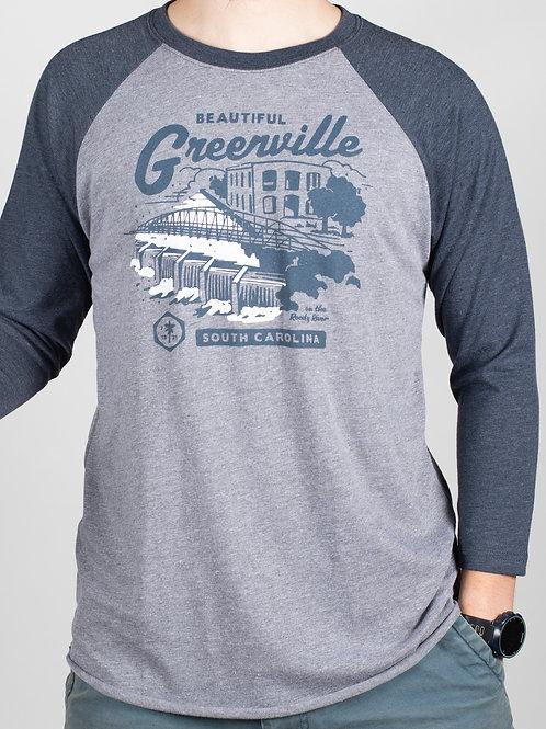 Raglin Greenville Matchbook Tee
