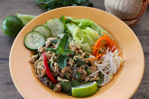 Sweet Basil MKE | Larb Chicken | Milwaukee, WI