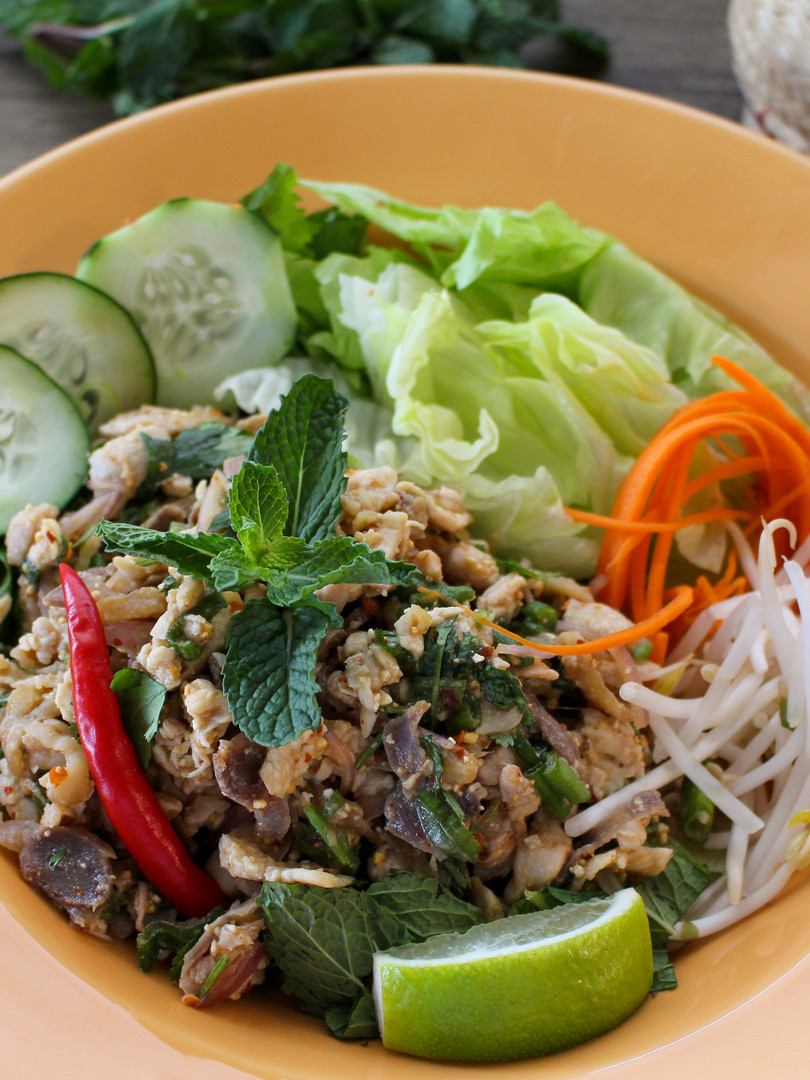 Lao Chicken Laab