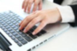 writing, typing
