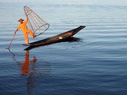 Fishermen of Inlay by Ranjan