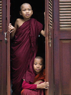 Travel Photography by Ranjan - Monks