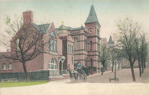 McCammon Memorial Masonic Hall & Town Hall, Sullivan Place, Holywood, circa 1905