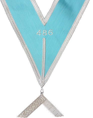 Masonic Worshipful Masters Collar from Craigantlet 486