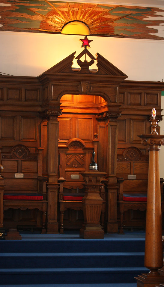 The Worshipful Masters Chair