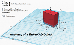 Anatomy of a TinkerCAD Object