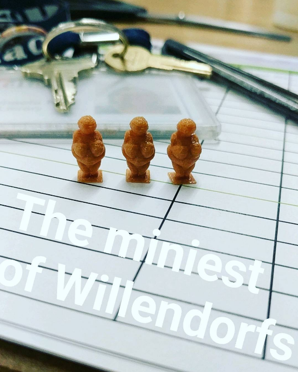 Miniest of Willendorfs