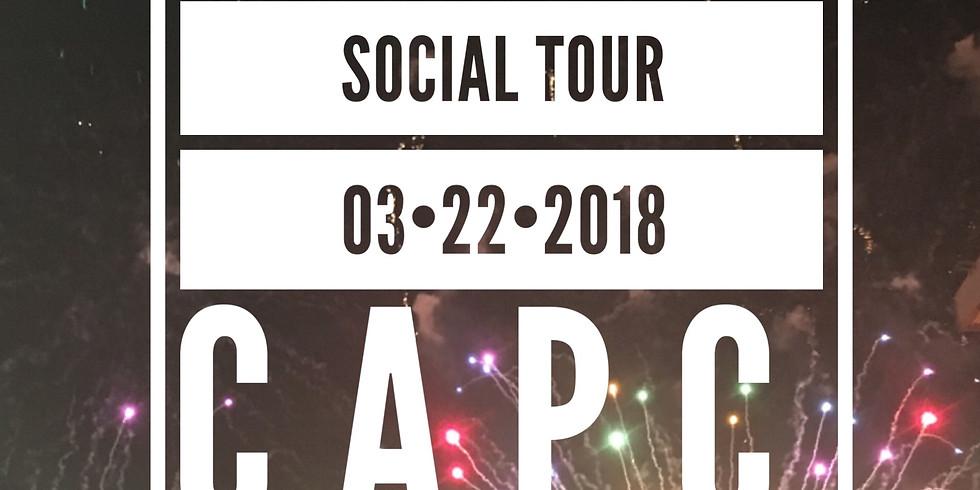 """March """"S"""" Social Tour"""