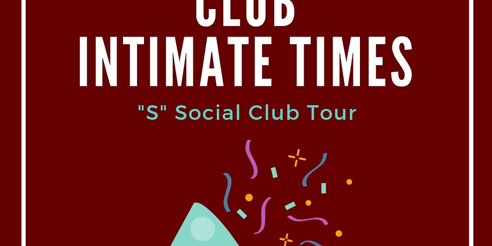 "June ""S"" Social - Club Tour (Club Intimate Time - Edmonton, AB)"