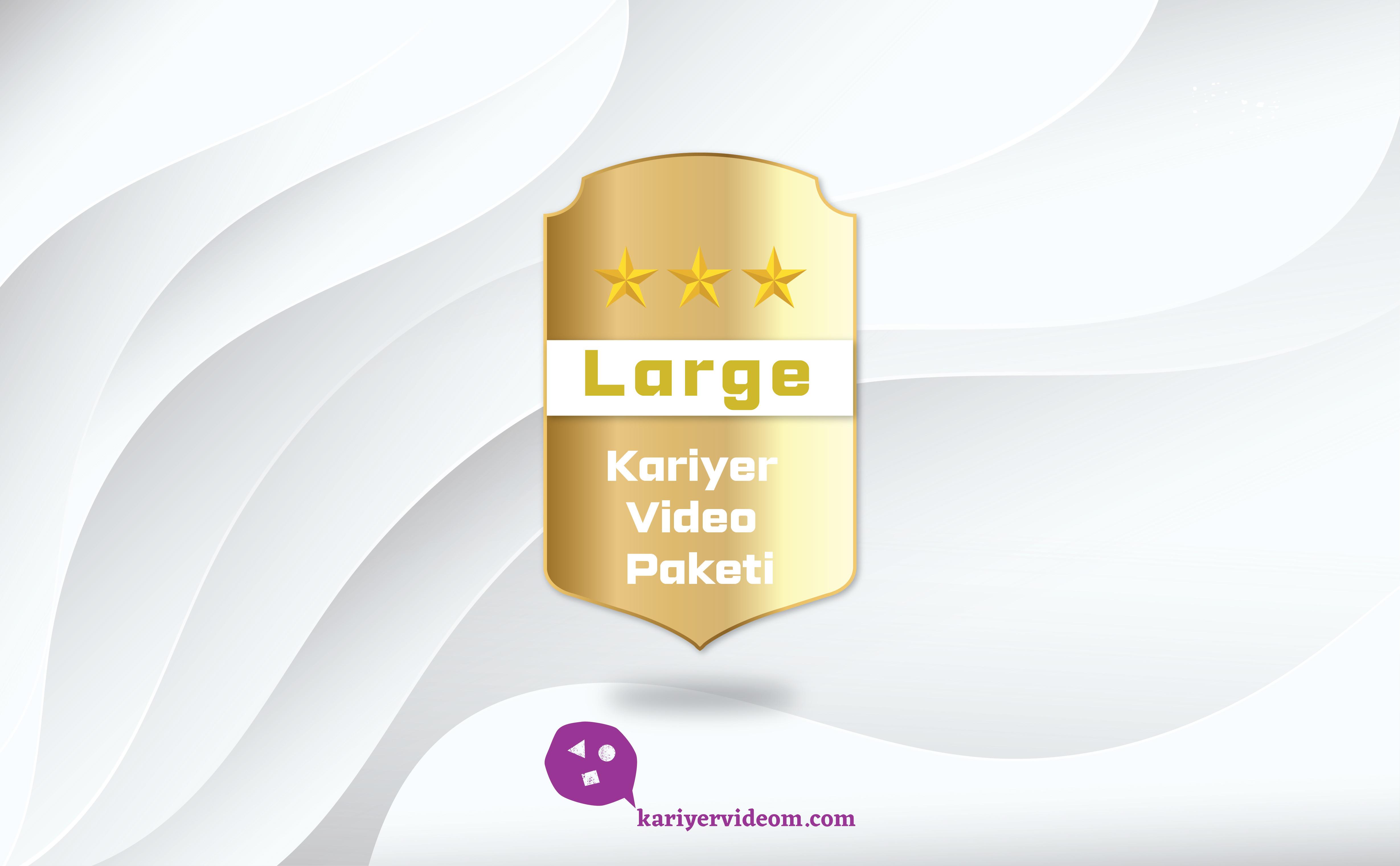 Large Kariyer Videom Paketi