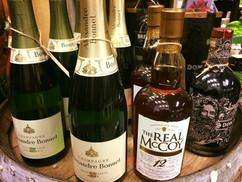 Rom og champagne